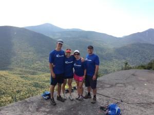 Catherine's Parents on Phelps' Summit
